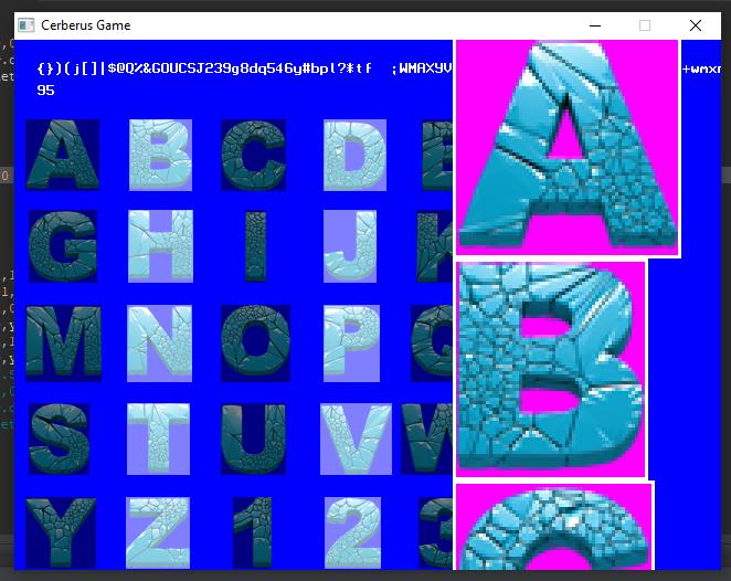 Bitmap Font editor for CX using CX | Cerberus X
